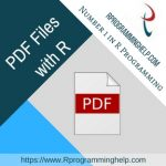 PDF Files with R