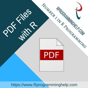 PDF Files with R assignment help
