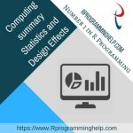 Computing summary Statistics and Design Effects