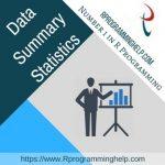 Data summary statistics