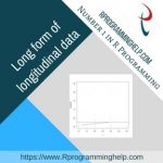 Long form of longitudinal data