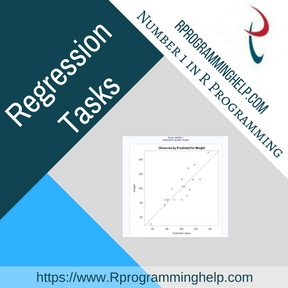 Regression Tasks Assignment Help