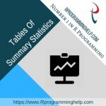 Tables Of Summary Statistics