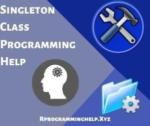 Singleton Class Programming Help