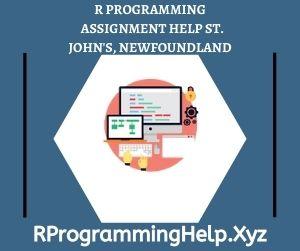 R Programming Assignment Help St John's Newfoundland
