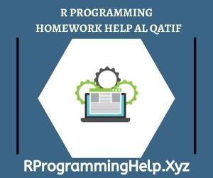 R Programming Homework Help Al Qatif