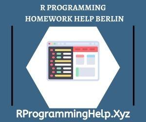 R Programming Homework Help Berlin