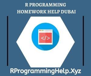 R Programming Homework Help Dubai