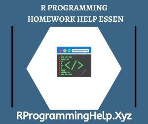 R Programming Homework Help Essen