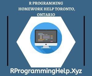 R Programming Homework Help Toronto Ontario
