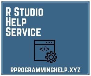R Studio Help Service